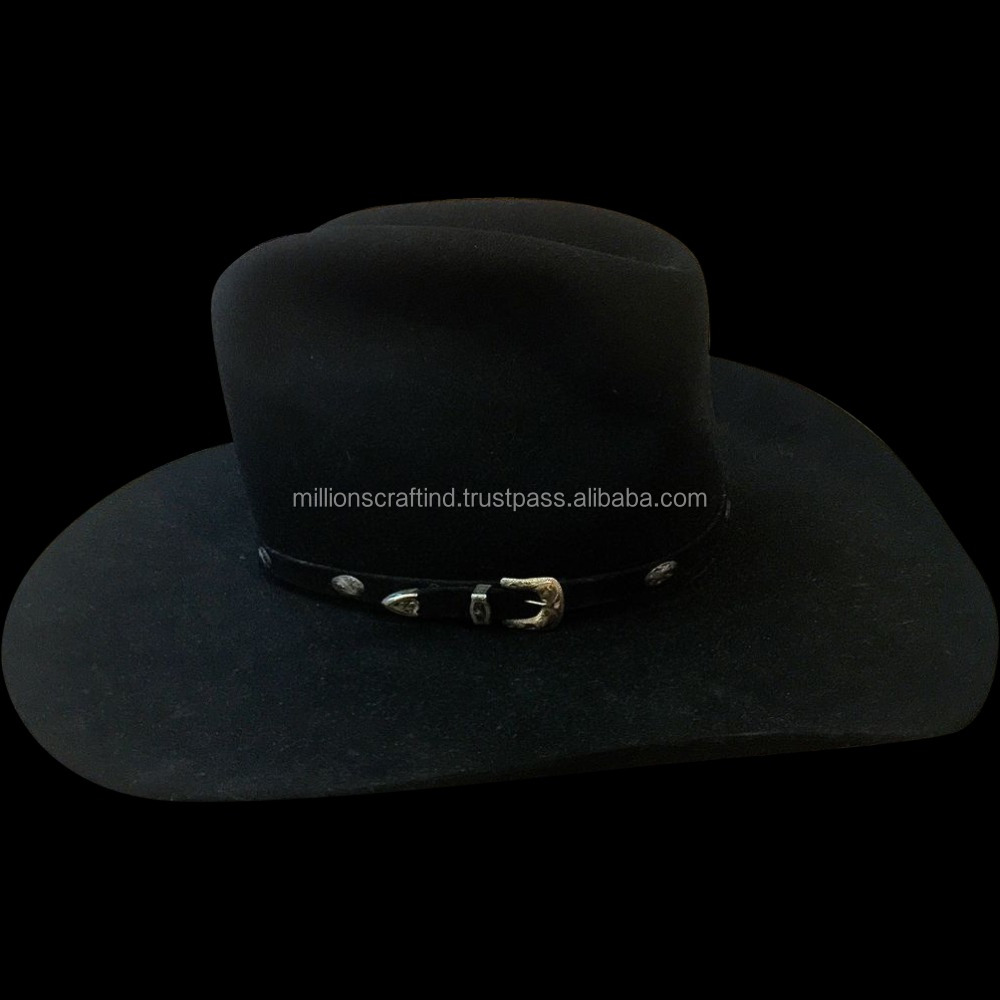 Australian Style Leather Western Hat Cowboy Hat, Riding Hat