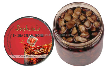SHISHA _STEAM_ STONES_250 GRAMS SOPHIES COLA THUNDER FLAVOUR