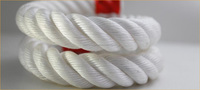 6 strand pp combination rope, pp mix stainless steel/4mm pp rope