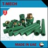 Uae factory price list ppr pipe and fitting small size green pipes ppr