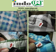Profesional inspection services / QC in indonesia product children garment quality control