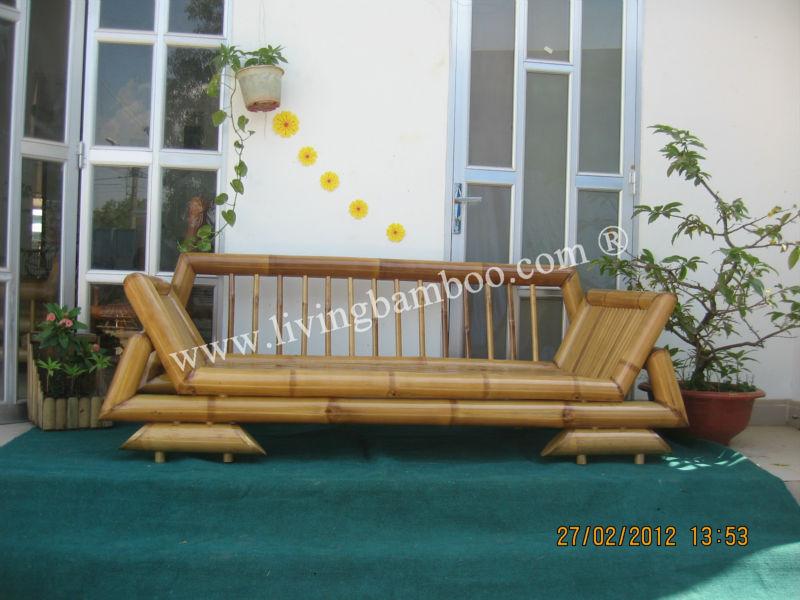 Lotus nat rlichen bambus sofa sofa im wohnzimmer - Bambus im wohnzimmer ...