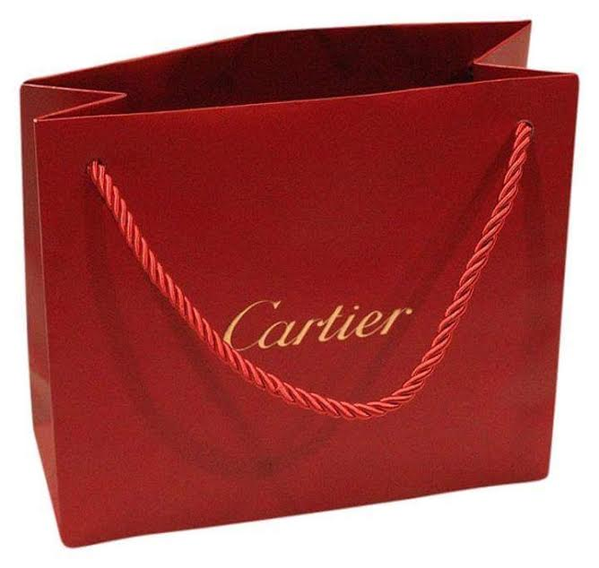 Custom made full color shopping paper bag with logo print