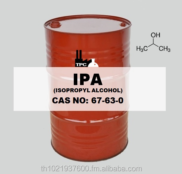 Isopropyl alcohol 99.9%Min IPA, I.P.A. Solvent Pack In New Drum, ISOTank , Eco-Drum Bul Iso proplyl alcohol