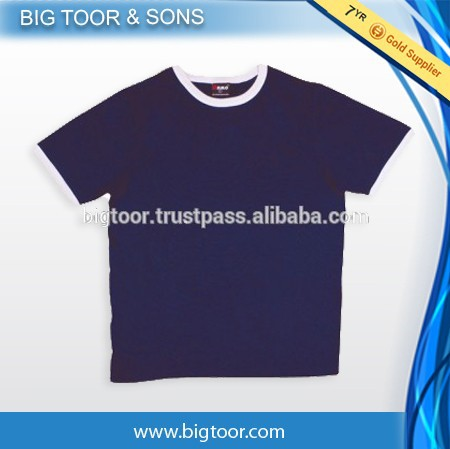 Premium quality Short sleeve custom made wholesale t shirts men