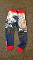 All over Sublimation Jogger Pants / Custom Printed Fleece sweatpants