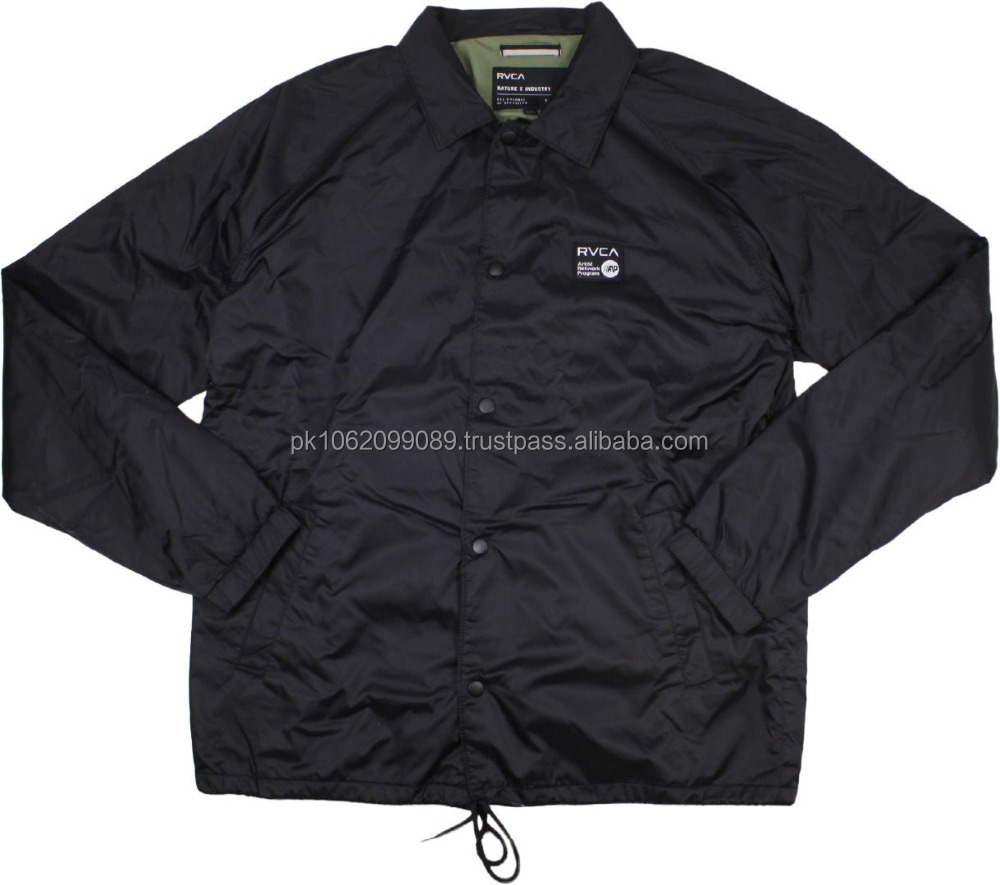 High quality sale custom coaches jackets wholesale custom quilted jackets