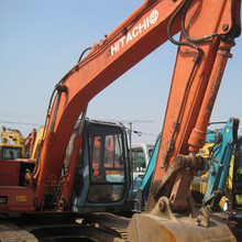 used Hitachi EX120 crawler excavator,cheap hitachi EX120 for sale in Shanghai
