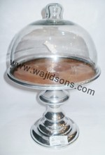 Popular design party cake stand with glass cover form Wajidsons Corporation