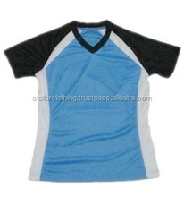 100% Polyester V Neck T-Shirt