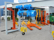 BALKANCAR PODEM electric wire rope hoist with monorail trolley 10tons (1ton -16tons)