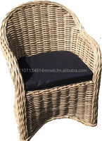 Outdoor Rattan Chair + Cushion