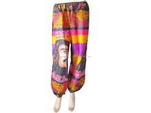 Funky Pajama Pants Gypsy Bottoms Tights Summer Wear Hippie Pants Women Rayon Pajama Trouser