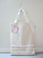 Handled Style and Cotton,natural cotton raw material Material tote canvas bag