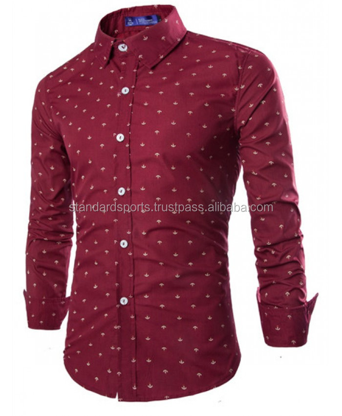 New Spring Fashion Brand Men Clothes Solid Color Slim Fit Men Long Sleeve Shirt Men Standard Sports