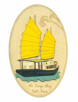 Fridge magnet, souvenirs, gifts, designed according to customer requirements, sample Ha Long Bay