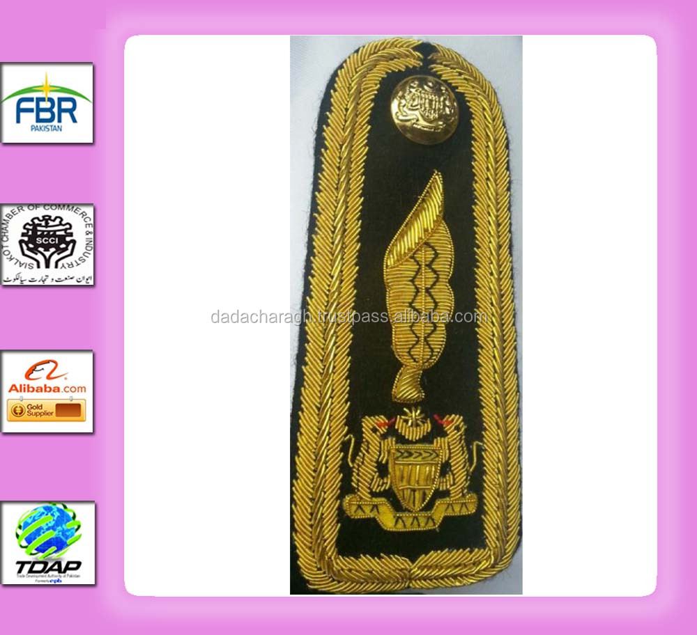 Hand Embroidery Malaysian Shoulder Board 20