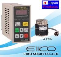 Reliable and Compact tension meter T300 for plastic film roll making machine with multiple functions made in Japan