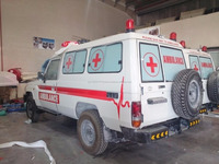 TOYOTA LAND CRUISER HZJ78 WITH ADVANCE AMBULANCE PACKAGE