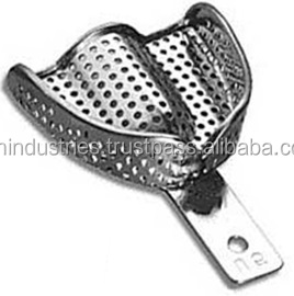 Dental Impression Trays Perforated Dental Laboratory instruments GMI-2906