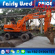 For sale cheap original used Doosan DH150LC-7 wheel excavator