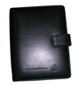 Genuine leather diary hot A5 metal ring binder notebook/ High quality leather ring binder / cheap price leather portfolio
