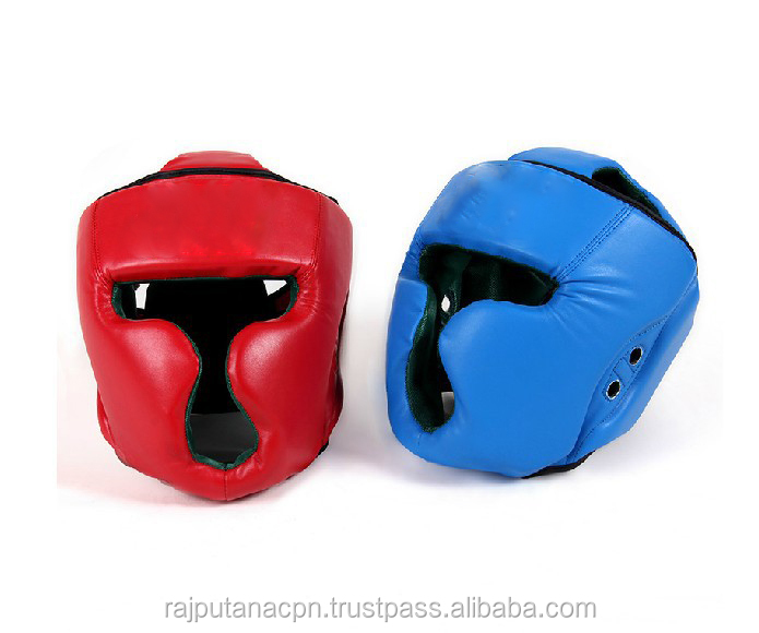 Leather made Head Guard Youth Boxing protector