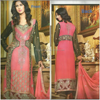 Ladies Designer Fancy Embroidered Chifoon Suits ,( Brand : Fashion City )