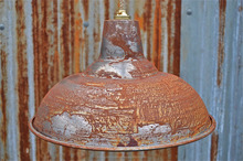 RETRO VINTAGE DISTRESSED PENDANT BIG LAMP , INDUSTRIAL LARGE PENDANT LAMPS & LIGHTS