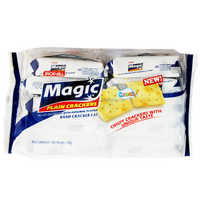 Magic Plain Crackers with Original Flavor 25g / Wholesale Biscuit