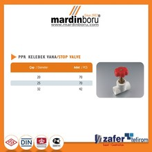 MARTHERM PPR Pipe Stop Valve