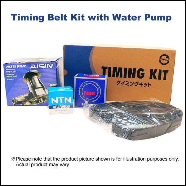 Timing Belt Kit with Water Pump for HiAce/RegiusAce KDH200# (Included Van & Commuter) STB516