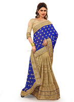 Buy designer sarees online for festival by Kesari Exports
