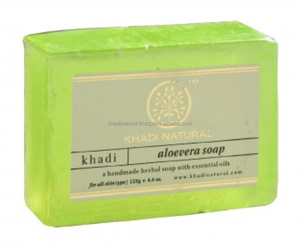 Khadi Natural Herbal Aloevera Soap