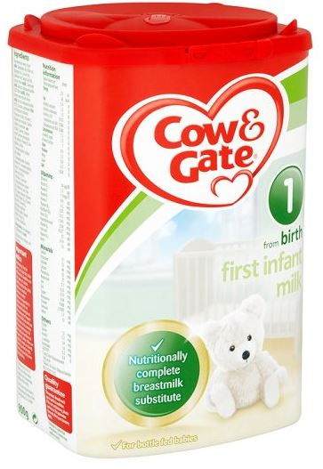 Cow & Gate 1 First Infant Milk Powder 0 Months to 6 Months Baby