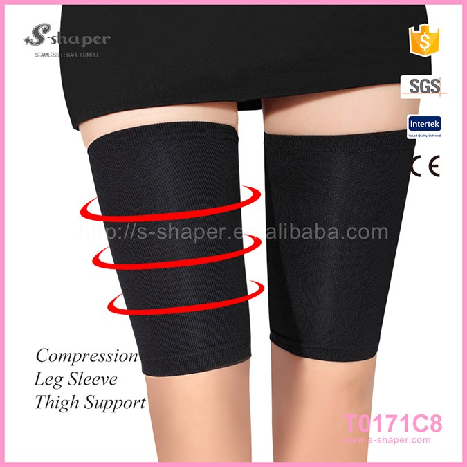 China High Quality Knitting Sports Elastic Thigh Leg Sleeves