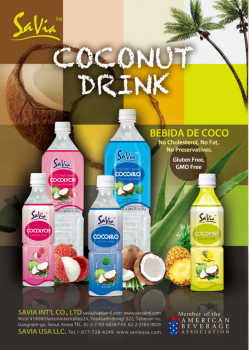 Savia Coconut Drink