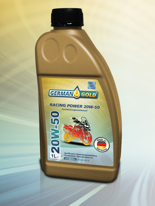 German Gold Racing Power 20W-50