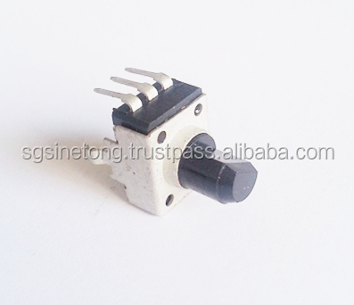 Compact type of potentiometer