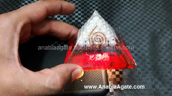 Pearls Orgone Colour Pyramid : Wholesale Orgone pyramid With Latest Design