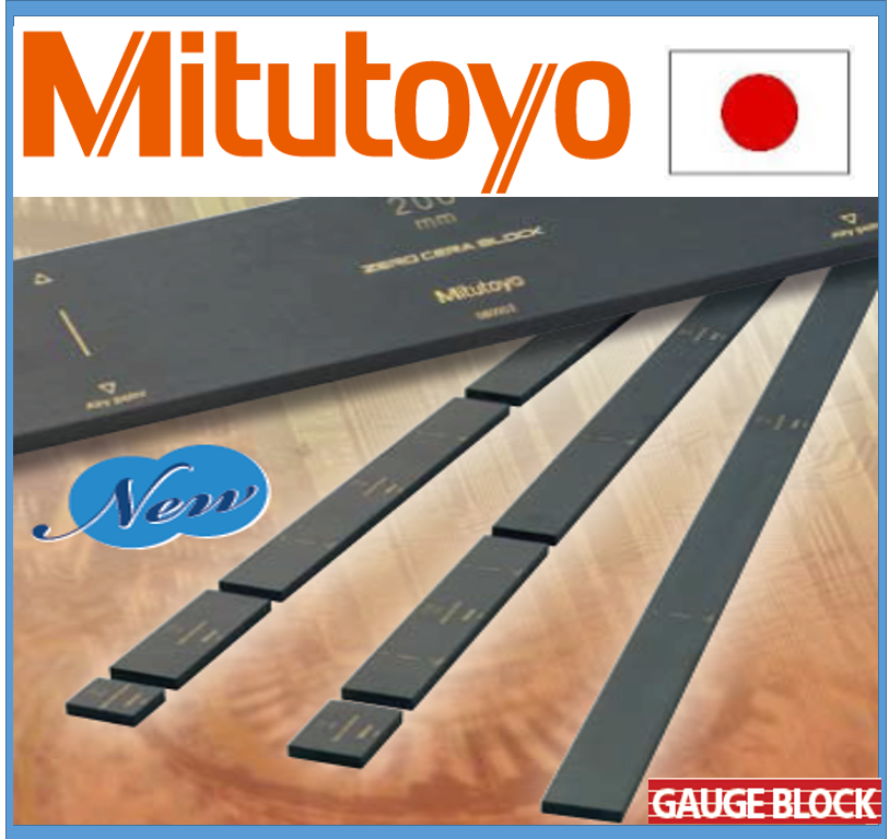 Accurate caliper Mitutoyo gauge block at reasonable prices made in Japan