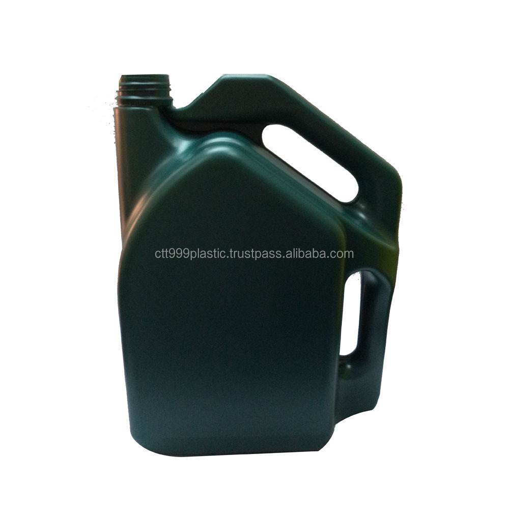 4L high quality HDPE, PP lubricant engine oil grease plastic bottle