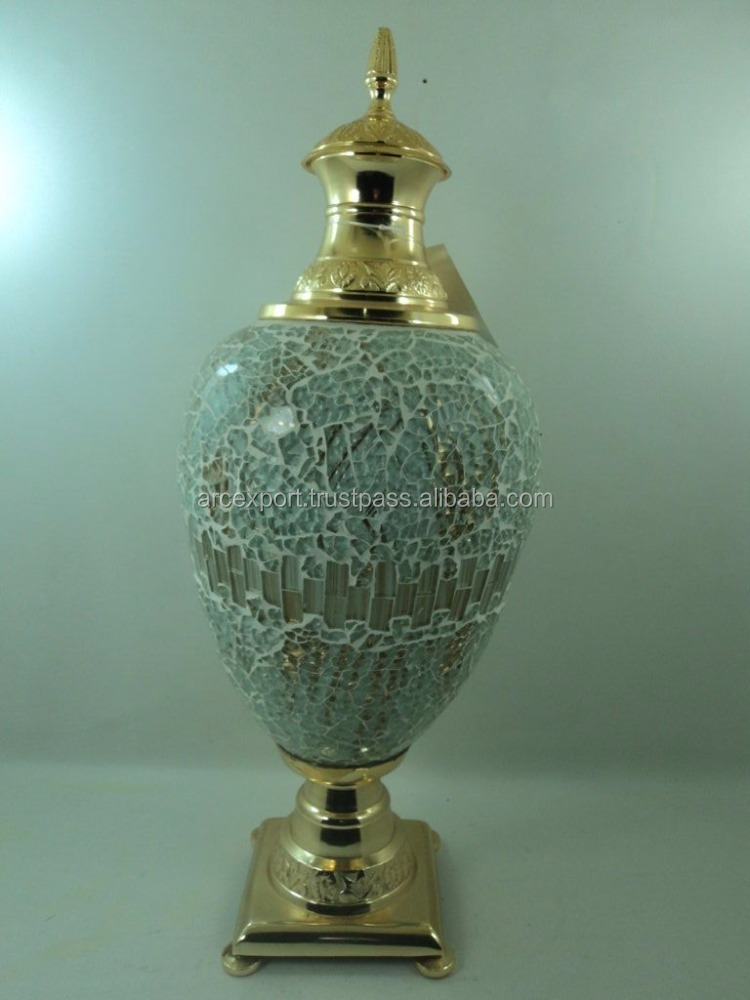 gold plated home decor fancy items for sale