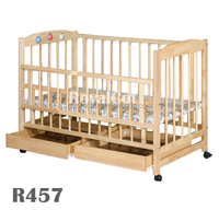 Wooden Cot Baby,Wooden Baby Cot,Solid Wood Cot Bed