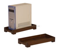 Mahogany Computer Tower Std M indoor Furniture.