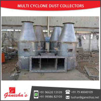 Highly Recommended M.S. and S.S. Mechanical Gas Cleaning Device Multicyclone Dust Cleaner to Collect Particles fr