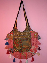 Indian Vintage Afghan Shoulder Handmade Bag Boho Indian Ethnic