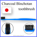 Best selling japan cosmetics health product blue Binchotan Charcoal oral care toothbrush