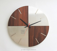 LEON Stainless Steel Wall Clock