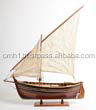 Maestral L65 cm - Handmade Wooden Model Fishing Boat